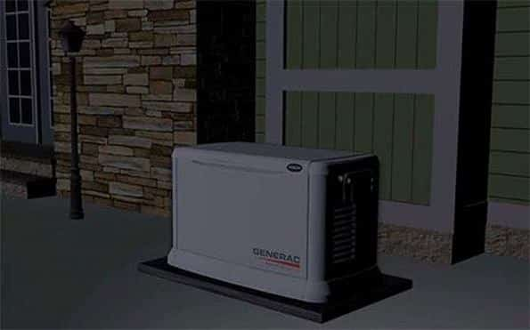 propane backup generator king city