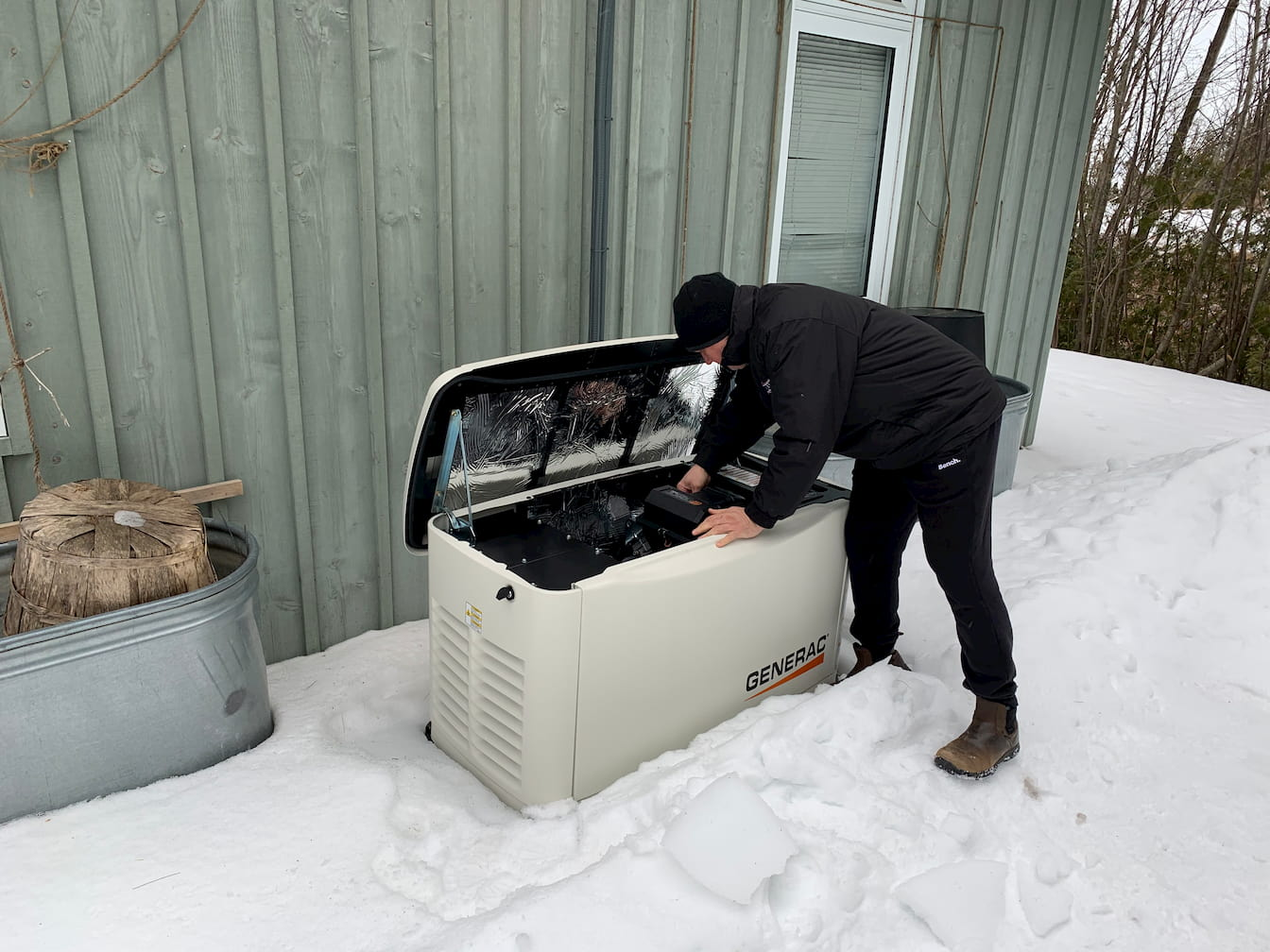 natural gas home generator Barrie