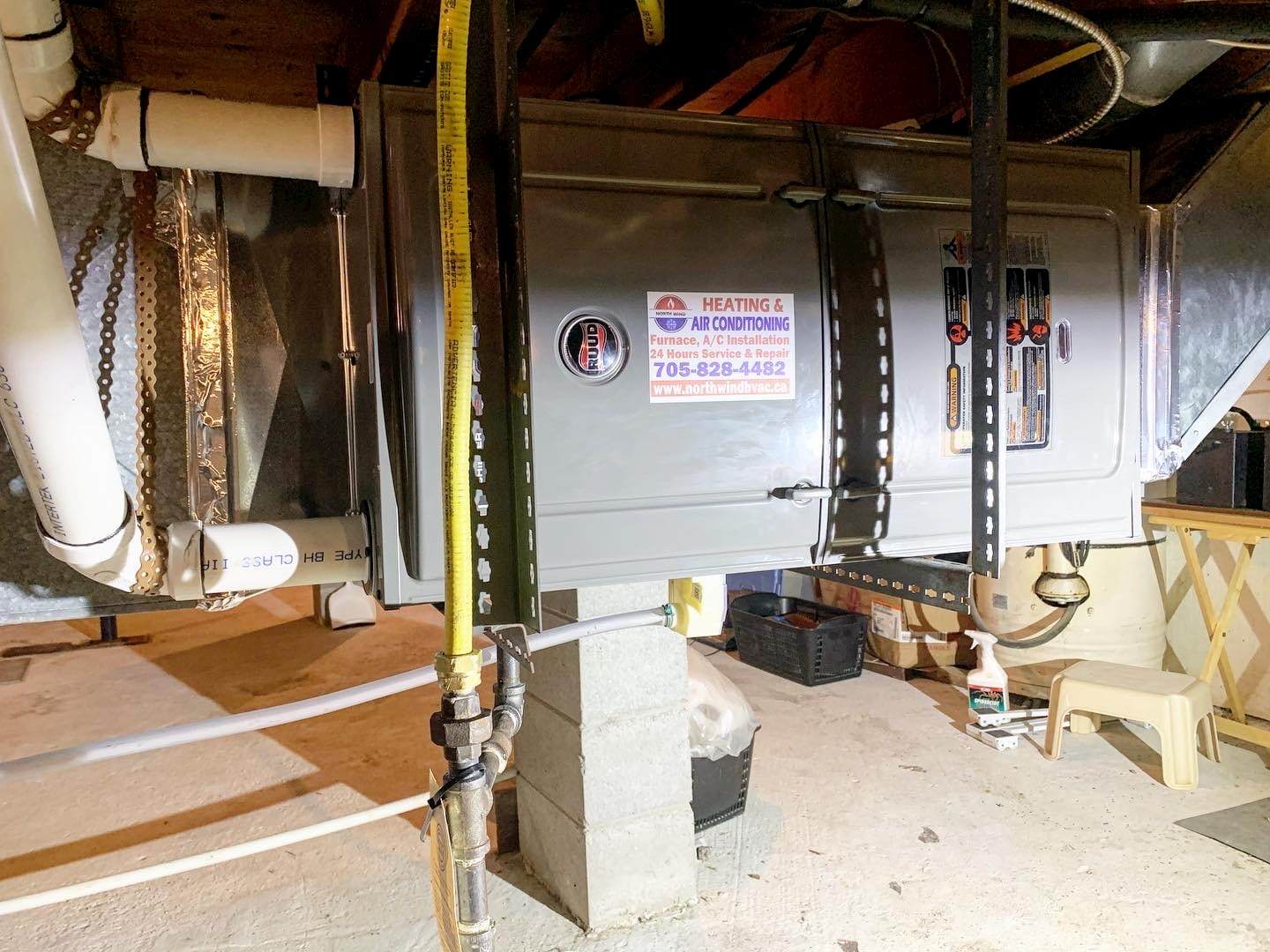 Furnace Replacement Services by North Wind HVAC Collingwood