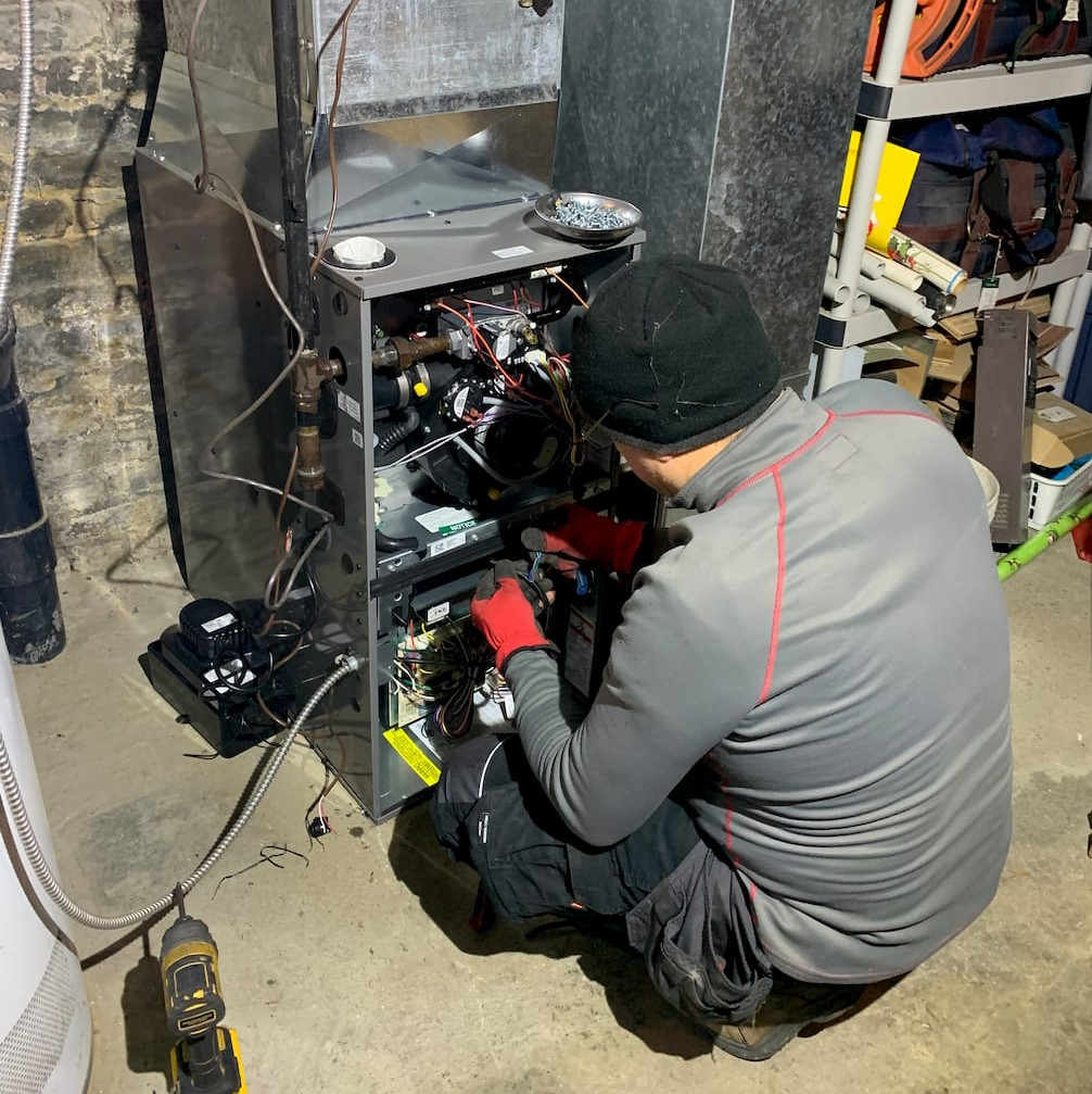 Furnace Repair Services in Progress Georgina