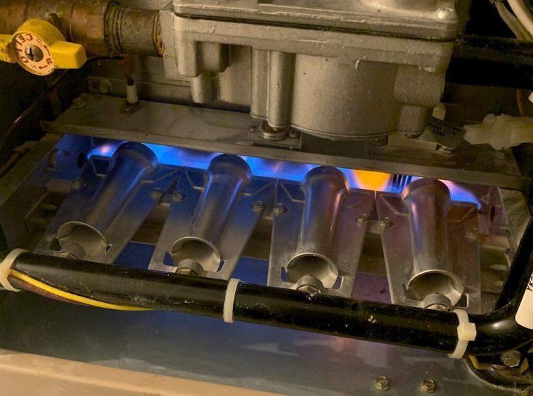Professional hot water tank maintenance by Northwind HVAC